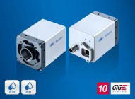 Câmeras LX com interface de fibra ótica para processamento de imagens em 10 km
