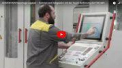 La operación táctil en el centro de mecanizado Hermle ahorra tiempo
