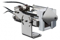 Câmeras compactas IR com caixa de refrigeração, conexão de purga de ar e obturador