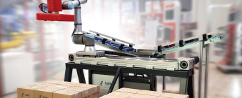Higher reach cobot thanks to Rollon linear axis