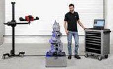 Escáner 3D móvil para la digitalización a gran escala en el sitio