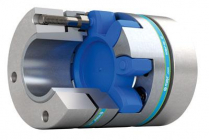 垂直軸用バックラッシュフリーサーボカップリングおよびブレーキシステム