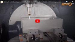 工作機械で数秒でワークを変更するためのクランプ技術