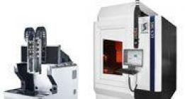 Máquinas de corte láser ultraprecisas en un marco de fundición mineral