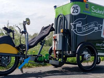 Les cylindres de freins hydrauliques stabilisent la direction et facilitent le transport