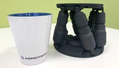 Kleinster Hexapod von Aerotech