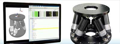 Hexapod von Aerotech mit Simulation