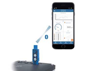 Application mobile pour armoire de commande et convertisseurs de fréquence