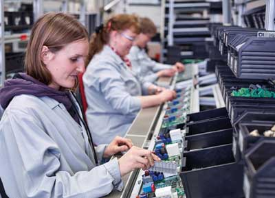 A field distributor is created - a look at the production at Nord
