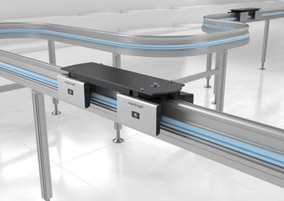 Capteur lidar 2D pour une navette de transport plus flexible de Montratec