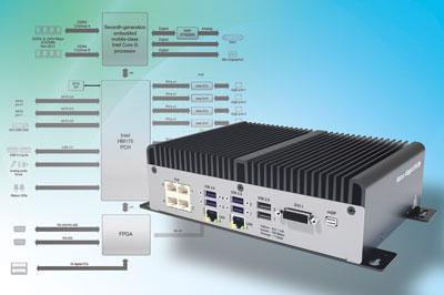 Fanless IPC for multi-camera and multi-line inspections