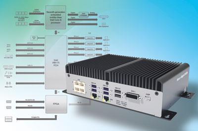 IPC sin ventilador para inspecciones multicámara y multilínea