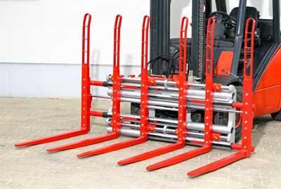 Robôs de manuseio para produção eficiente de peças complementares para empilhadeiras