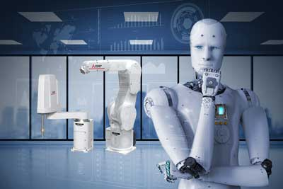 Predictive maintenance with artificial intelligence for robots