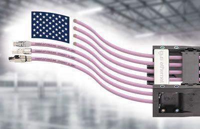 Высоко гибкие кабели Ethernet с сертификатом 600 V UL