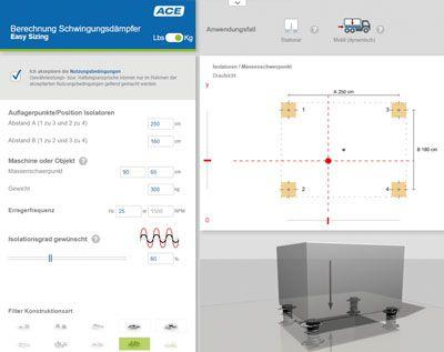 Progettazione online con negozio per stoccaggio tecnico vibratorio di macchine