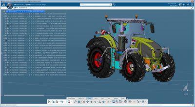 El fabricante de maquinaria agrícola Claas confía en la plataforma de ingeniería digital.
