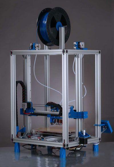 Tecnologia linear para impressoras 3D de ponta, duráveis e leves