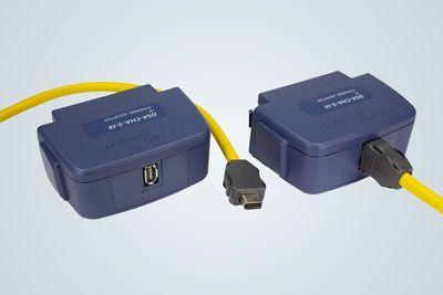 Mätadapter för fullständig certifiering av kablage