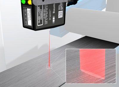 Sensores de distancia para mediciones precisas en línea en superficies estructuradas