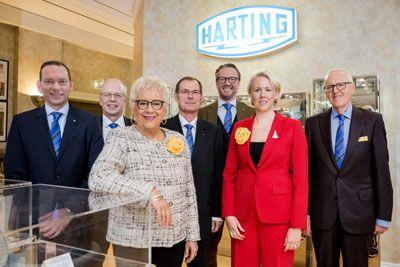Harting again announces double-digit sales growth