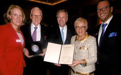 Hög utmärkelse: Karmarsch-medaljen för Dietmar Harting