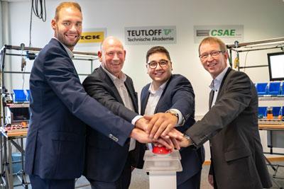 TA Teutloff, la CSAE et Turck concluent une coopération dans le domaine de l'éducation pour le secteur 4.0
