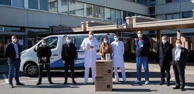 Minebea Mitsumi doa 17.000 máscaras de proteção em toda a Europa