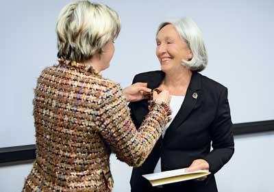 Entreprenören Renate Pilz får Federal Cross of Merit