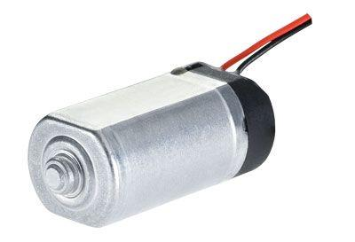 Integrated vibration motor for automotive and other applications