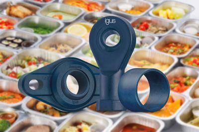 Polímeros tribo detectables para contacto con alimentos.