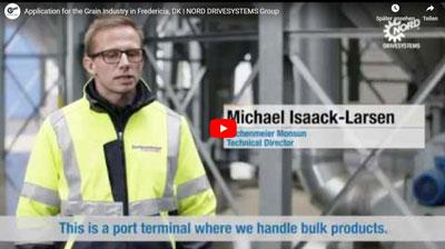 Drive technology for grain terminal from Lachenmeier Monsum