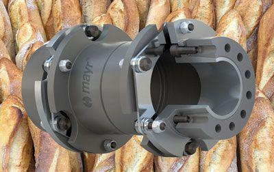 Powerful shaft couplings for the requirements of back-lines