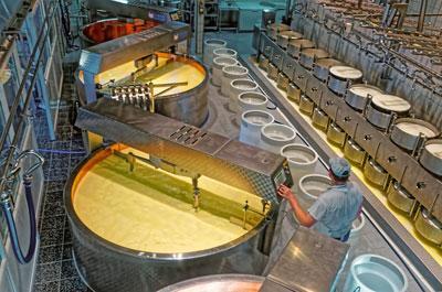 Линейные тормоза обеспечивают безопасность производства сыра на Chalon Mégard