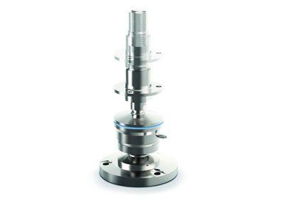 Weighing module for hygienic weighing extended by new load levels