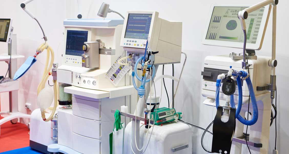 医療および人工呼吸器用ケーブルアセンブリ