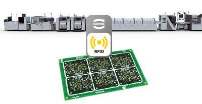 SMT production line detects PCB by RFID