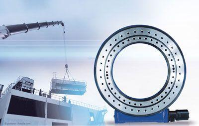 Unidades de giro listas para instalar en un diseño particularmente plano