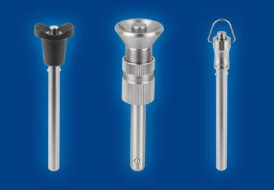 Adjustable ball lock bolts with head lock for long distances
