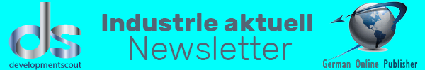 Newsletter Logo bleu