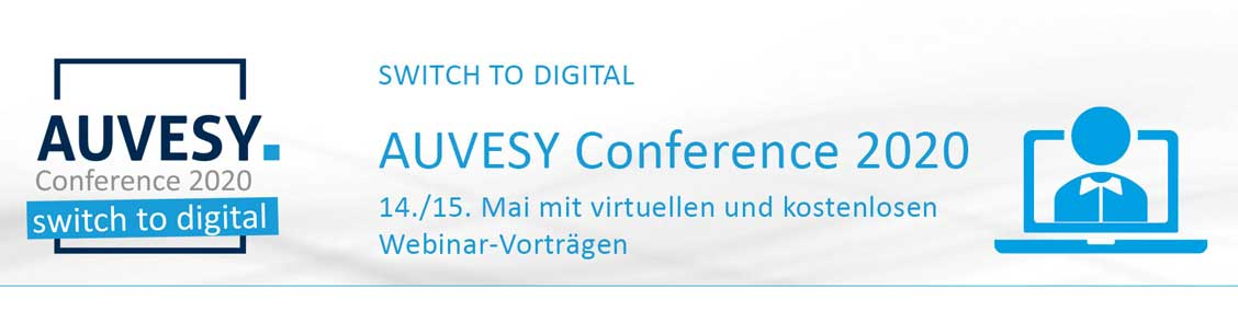 Auvesy Conference 2020 takes place digitally with webinars