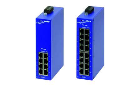 家庭の電気メーターをネットワーク化するためのギガビットスイッチ